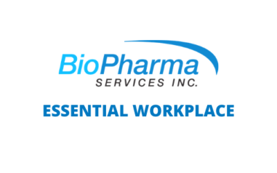BioPharma Services Identified As Essential Service Provider
