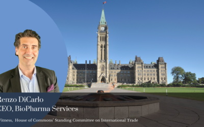 Renzo DiCarlo Of BioPharma Services Inc. Presents COVID-19 Vaccine Strategies To Canadian Parliament