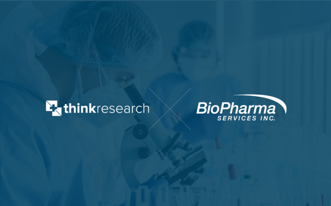 Think Research Corporation Closes Acquisition of Bio Pharma Services Inc.