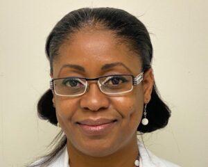 Kemba Robinson, receptionist at BioPharma Services